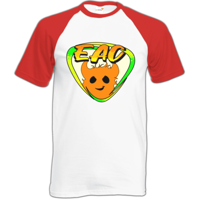 Motiv: Baseball-T FAIR WEAR - EAC-Logo