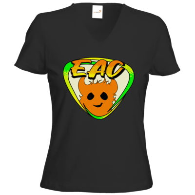 Motiv: T-Shirts Damen V-Neck FAIR WEAR - EAC-Logo