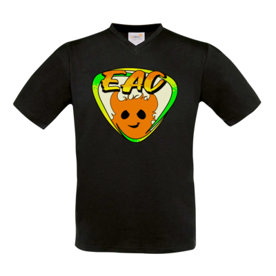 Motiv: T-Shirt V-Neck FAIR WEAR - EAC-Logo