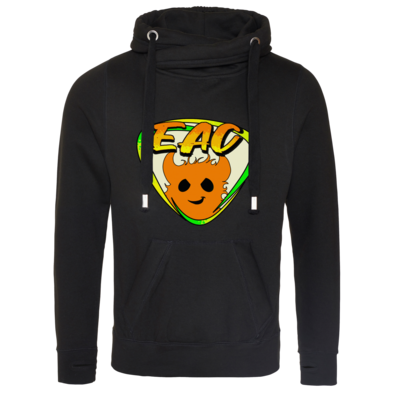 Motiv: Cross Neck Hoodie - EAC-Logo