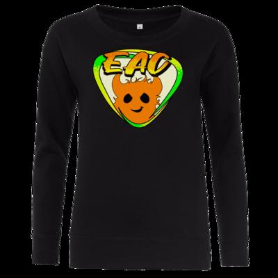 Motiv: Girlie Crew Sweatshirt - EAC-Logo