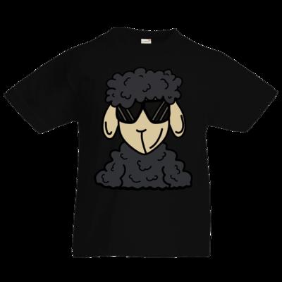 Motiv: Kids T-Shirt Premium FAIR WEAR - ZOS Schaf mit Sonnenbrille grau