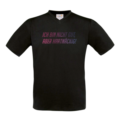Motiv: T-Shirt V-Neck FAIR WEAR - Glu3cifer Credo