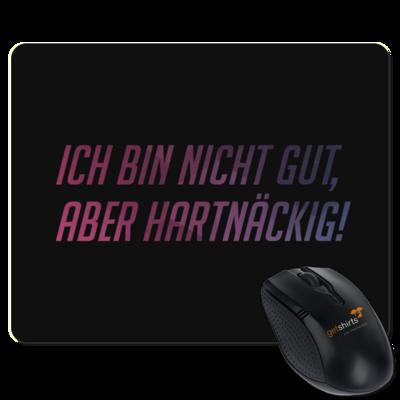 Motiv: Mousepad Textil - Glu3cifer Credo