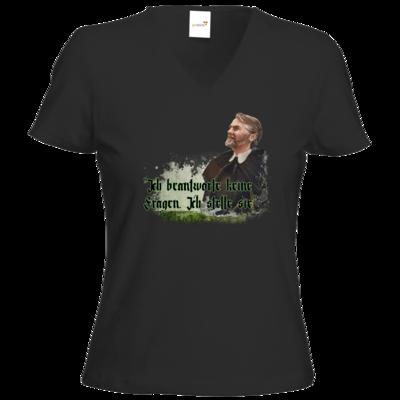 Motiv: T-Shirts Damen V-Neck FAIR WEAR - HeXXen - Johann