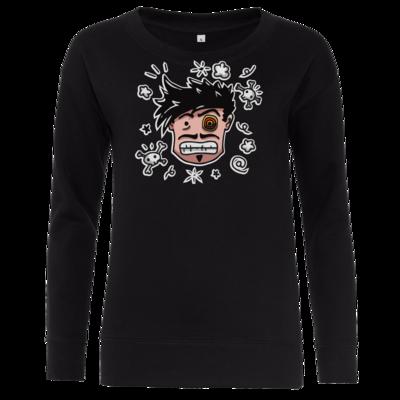 Motiv: Girlie Crew Sweatshirt - Teilzeit-Salzig