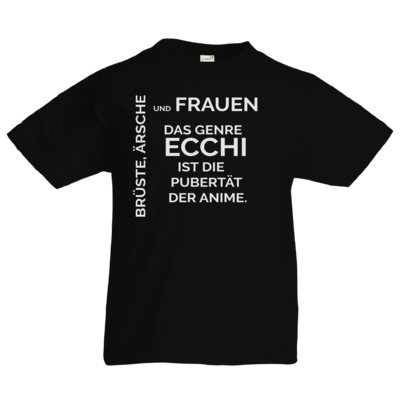 Motiv: Kids T-Shirt Premium FAIR WEAR - ECCHI ist Pubertät