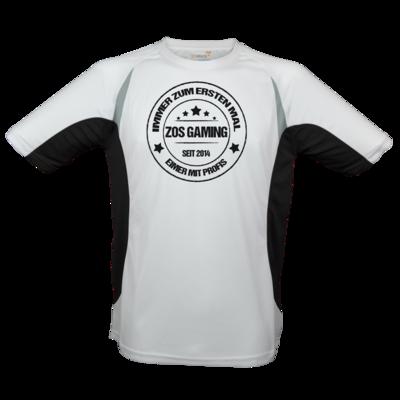 Motiv: Laufshirt Running T - ZOS Vintage - Eimer mit Profis