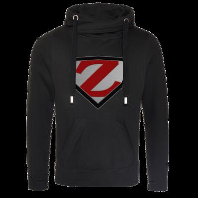 Motiv: Cross Neck Hoodie - ZargoZ Logo