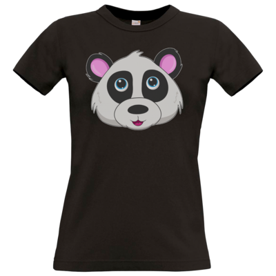 Motiv: T-Shirt Damen Premium FAIR WEAR - Panda