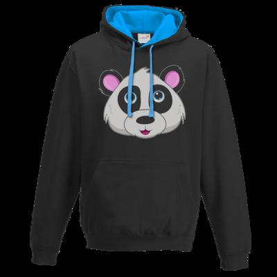 Motiv: Two-Tone Hoodie - Panda