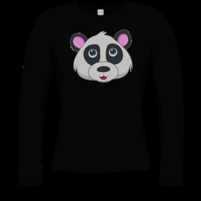 Motiv: Longsleeve Damen Organic - Panda