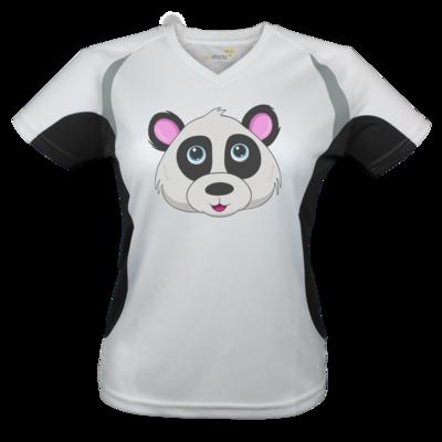 Motiv: Laufshirt Lady Running T - Panda