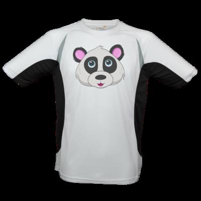 Motiv: Laufshirt Running T - Panda