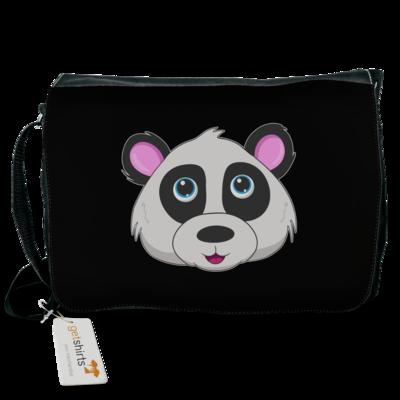 Motiv: Schultertasche - Panda