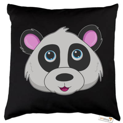 Motiv: Kissen Baumwolle - Panda