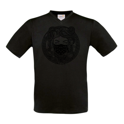 Motiv: T-Shirt V-Neck FAIR WEAR - GANG - Black