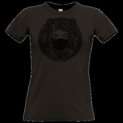 Motiv: T-Shirt Damen Premium FAIR WEAR - GANG - Black