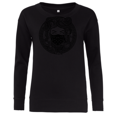Motiv: Girlie Crew Sweatshirt - GANG - Black