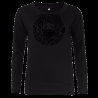 Motiv: Girlie Crew Sweatshirt - GANG - Black