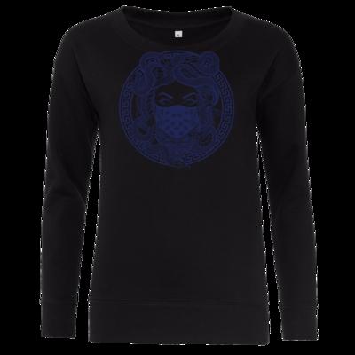 Motiv: Girlie Crew Sweatshirt - GANG - Marine