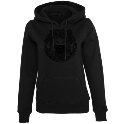 Motiv: Womens Heavy Hoody - GANG - Black