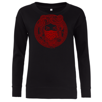 Motiv: Girlie Crew Sweatshirt - GANG - Red