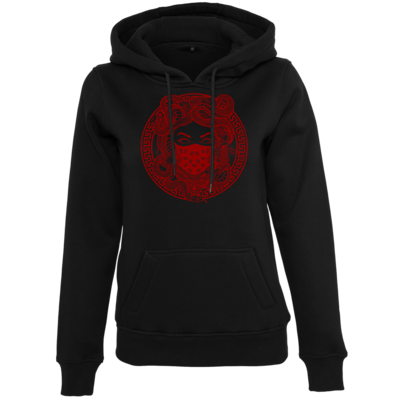 Motiv: Womens Heavy Hoody - GANG - Red