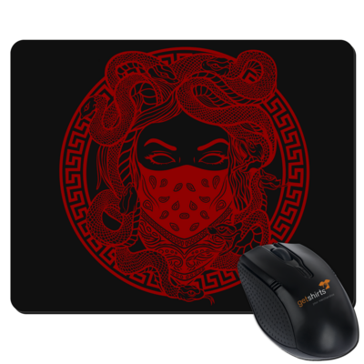 Motiv: Mousepad Textil - GANG - Red