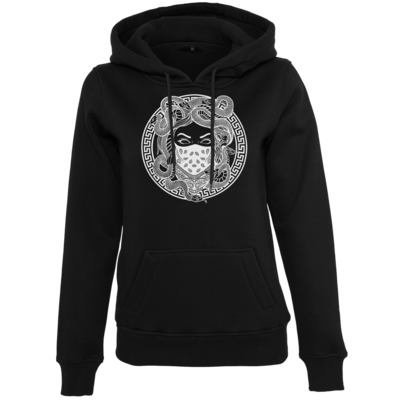 Motiv: Womens Heavy Hoody - GANG - White