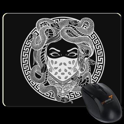 Motiv: Mousepad Textil - GANG - White