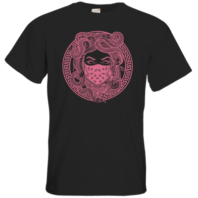 Motiv: T-Shirt Premium FAIR WEAR - GANG - Rosa