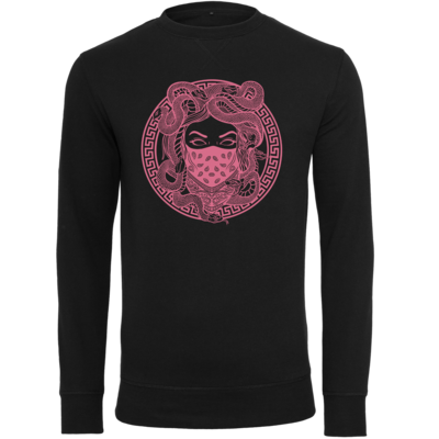 Motiv: Light Crew Sweatshirt - GANG - Rosa