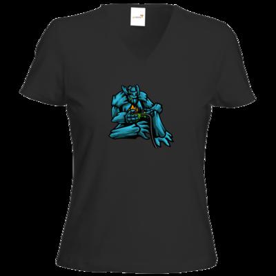 Motiv: T-Shirt Damen V-Neck Classic - Controller