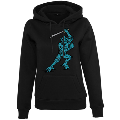 Motiv: Womens Heavy Hoody - Sword