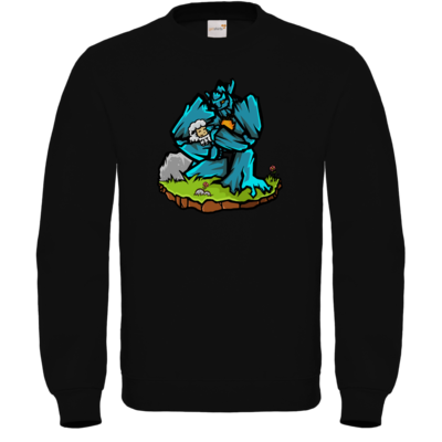 Motiv: Sweatshirt FAIR WEAR - sheep