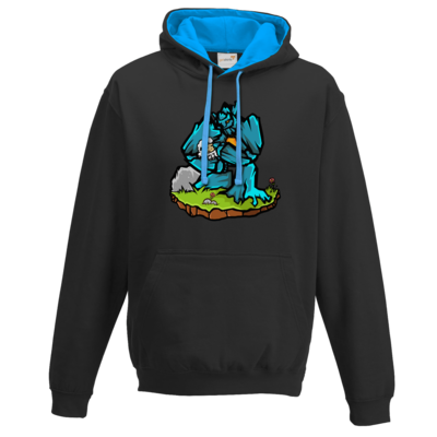 Motiv: Two-Tone Hoodie - sheep