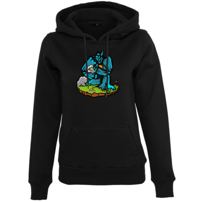 Motiv: Womens Heavy Hoody - sheep