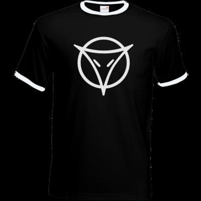Motiv: T-Shirt Ringer - Götter Symbol - Phex