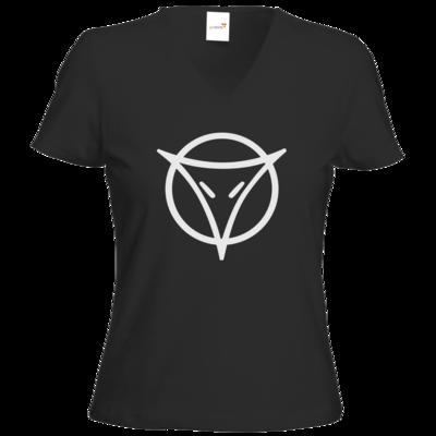 Motiv: T-Shirts Damen V-Neck FAIR WEAR - Götter Symbol - Phex