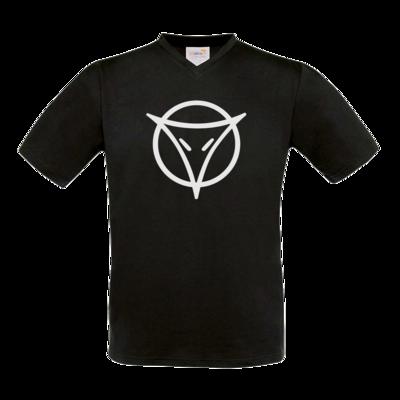 Motiv: T-Shirt V-Neck FAIR WEAR - Götter Symbol - Phex