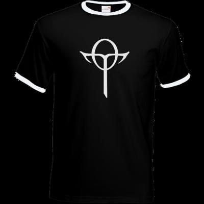 Motiv: T-Shirt Ringer - Götter Symbol - Rahja