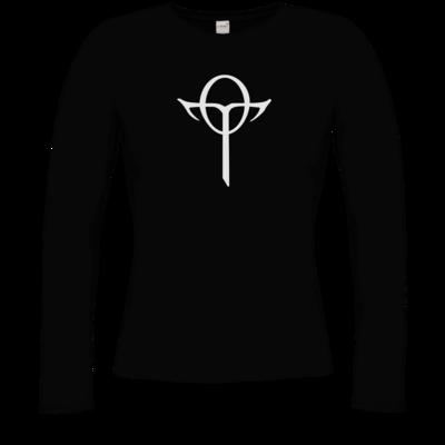 Motiv: Longsleeve Damen Organic - Götter Symbol - Rahja