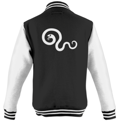 Motiv: College Jacke - Götter Symbol - Hesinde