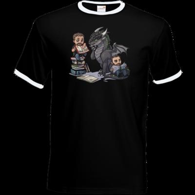 Motiv: T-Shirt Ringer - Ulisses - Chibi - Vlog