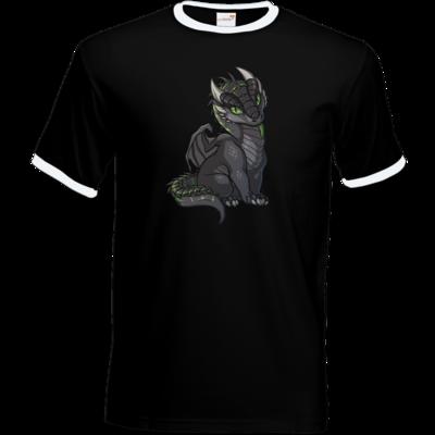 Motiv: T-Shirt Ringer - Ulisses - Chibi