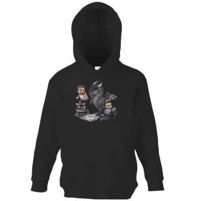 Motiv: Kids Hooded Sweat - Ulisses - Chibi - Vlog