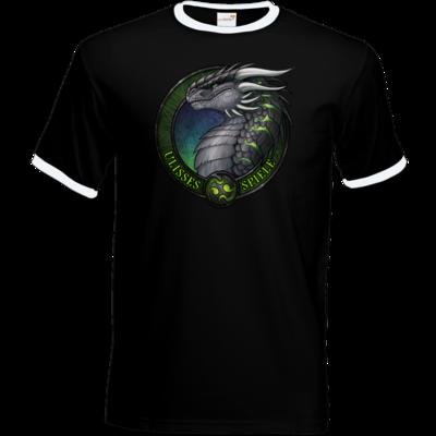 Motiv: T-Shirt Ringer - Ulisses - Logo Ulisses-Spiele