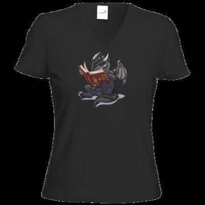Motiv: T-Shirt Damen V-Neck Classic - Ulisses - Chibi - Leseprobe