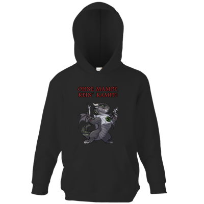 Motiv: Kids Hooded Sweat - Ulisses - Ohne Mampf kein Kampf